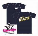 Cats Cheermom T-Shirt Girlie
